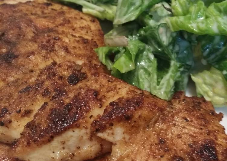 Going Green for Greater Health By Consuming Superfoods Quick and Easy Spiced Chicken Breast