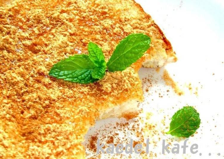 Recipe of Super Quick Homemade Yatsuhashi-flavoured Toast