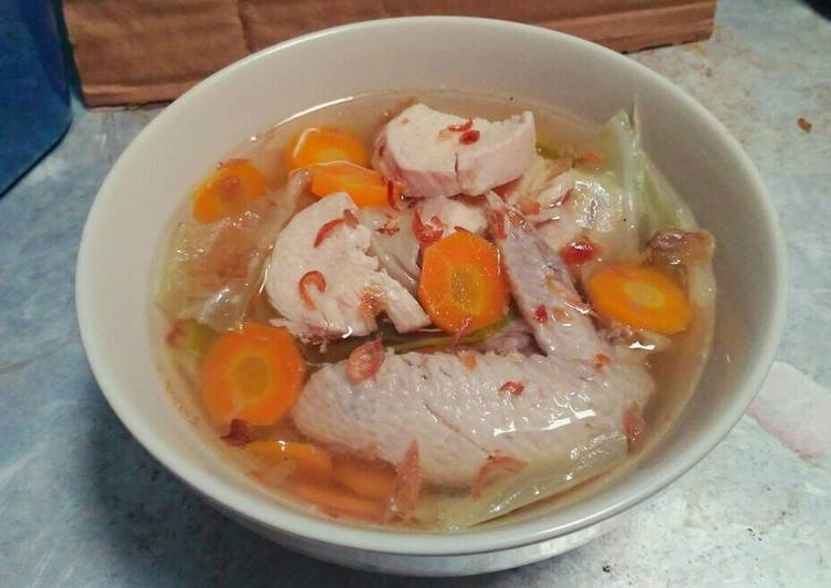 Resep Sayur Sop Ayam Kuah Bening Tanpa Uleg Bumbu Tidak Berminyak Oleh Winda Astuti Cookpad