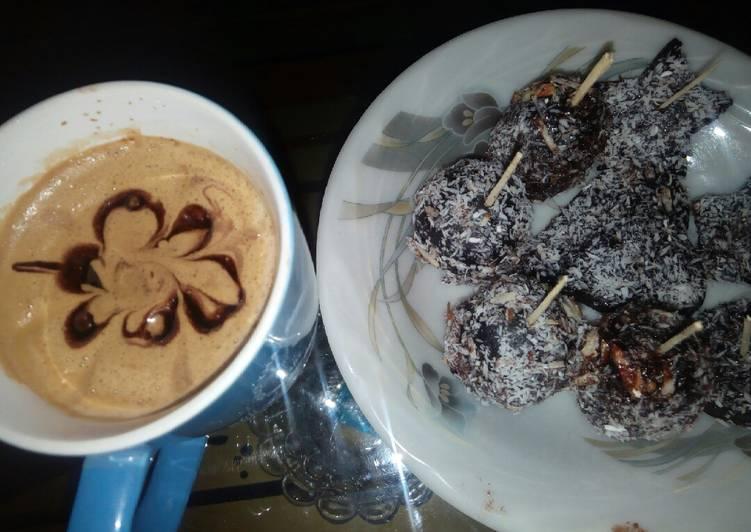 Easiest Way to Cook Yummy Chocolate lazy cake pop