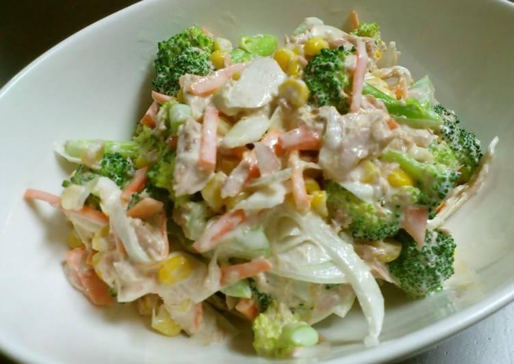 Recipe of Super Quick Homemade Food Hall Style Broccoli and Tuna Salad