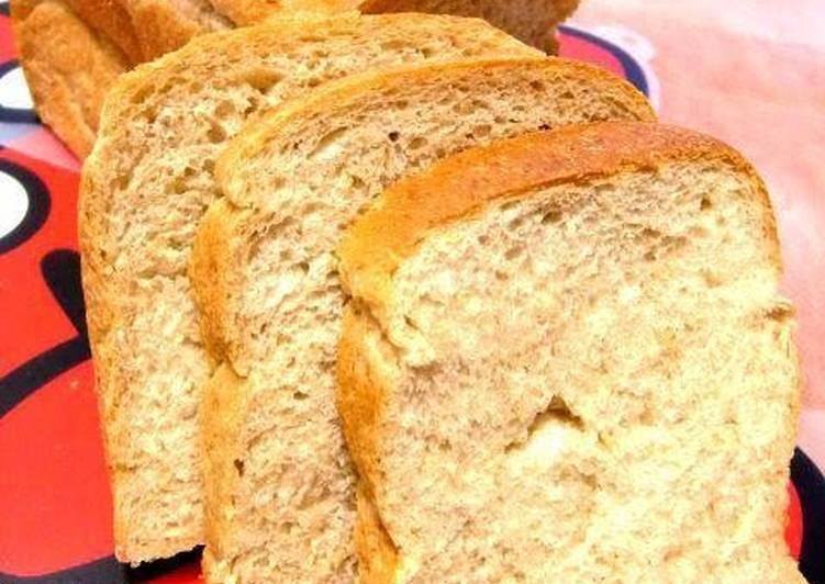 Healthy Whole Wheat Flour & Oatmeal Bread