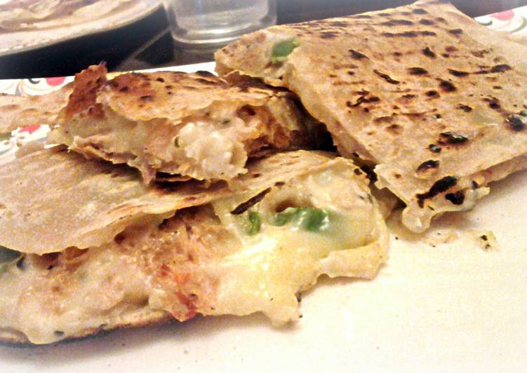 Turn to Food to Boost Your Mood cheezy quesadilla