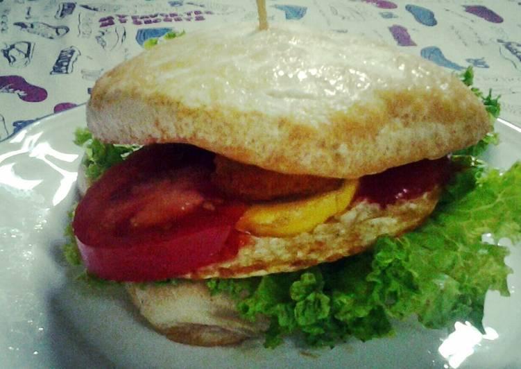 Steps to Make Any-night-of-the-week Tofu Burger