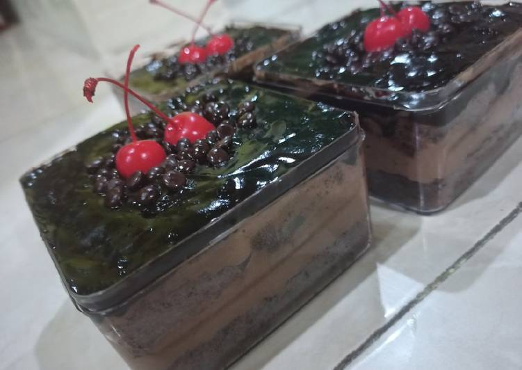 Dissert box brownies coklat