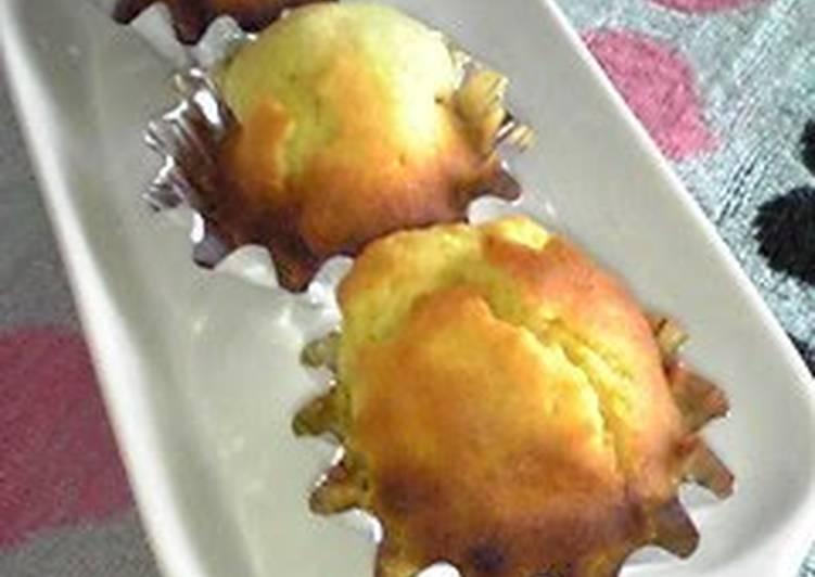 Easy Toaster Oven Madeleine Cakes