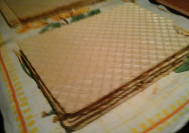Wafa Caramel Cake