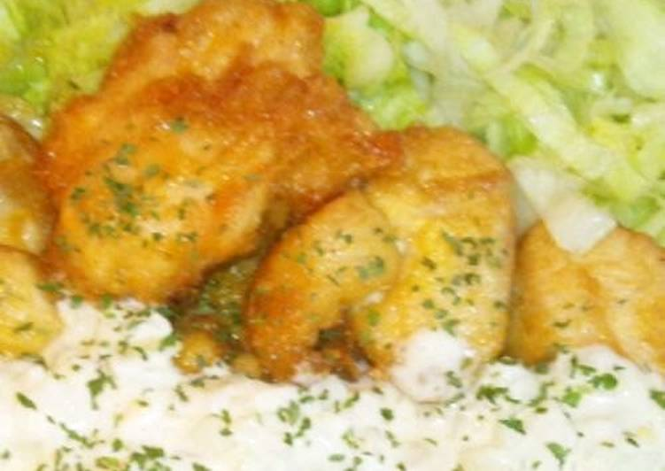 Recipe of Speedy Easy Chicken Nanban with Sushi Vinegar and Tartar Sauce