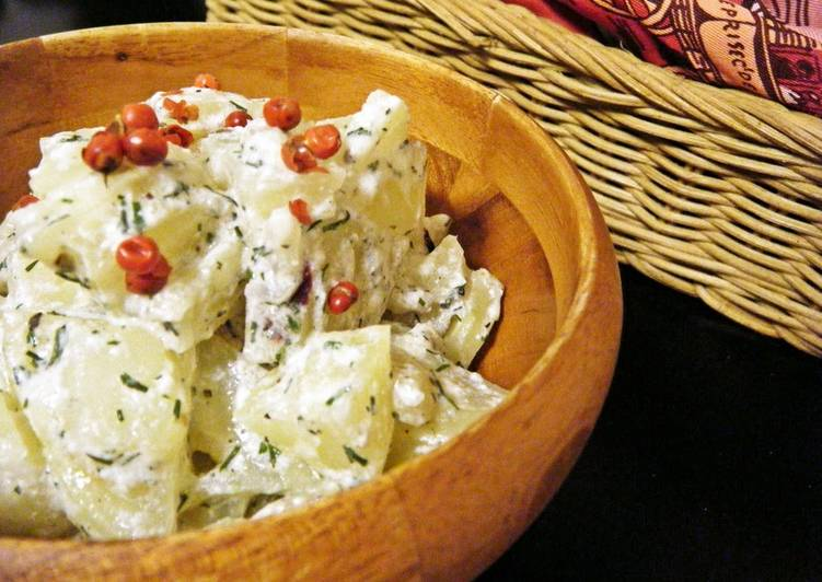 Steps to Make Favorite Healthy Yogurt Potato Salad in 5 Minutes