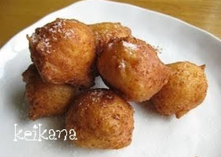 Recipe of Ultimate Easy Doughnut with Tofu and Pancake Mix