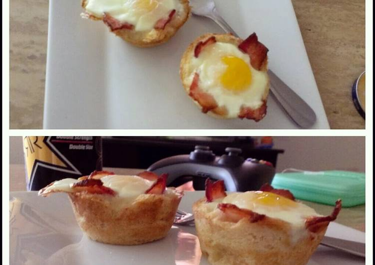 Breakfast Toast Cups