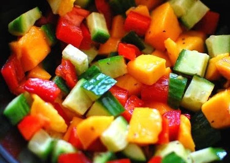 Mango salsa ( quicklydelicious.com)