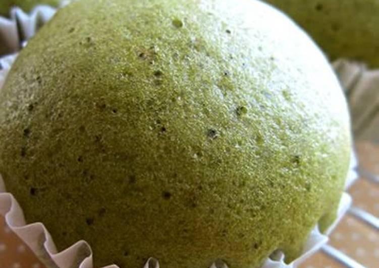 How to Prepare Favorite Matcha Steamed Bread with Pancake Mix