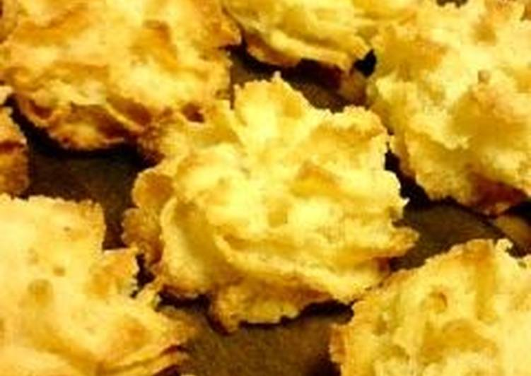 Okara (Soy Pulp) Coconut Cookies - Laurie G Edwards