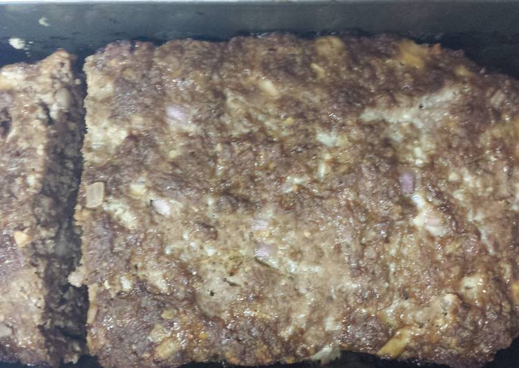 Recipe: Perfect Uncle Doggie's Signature Meatloaf