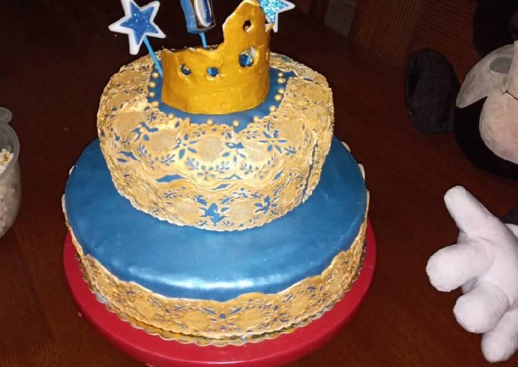 كعكة عيد ميلاد ابني بالصور من Nina Bouri كوكباد
