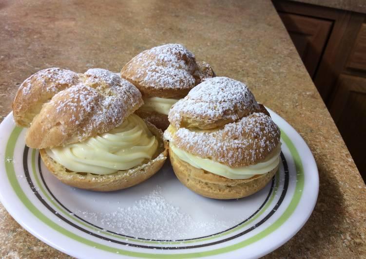Recipe of Homemade The Perfect Cream Puff