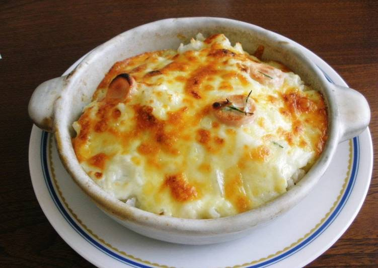 Dining 14 Superfoods Is A Good Way To Go Green And Be Healthy Easy Rosemary and Sausage Rice Gratin (Doria)