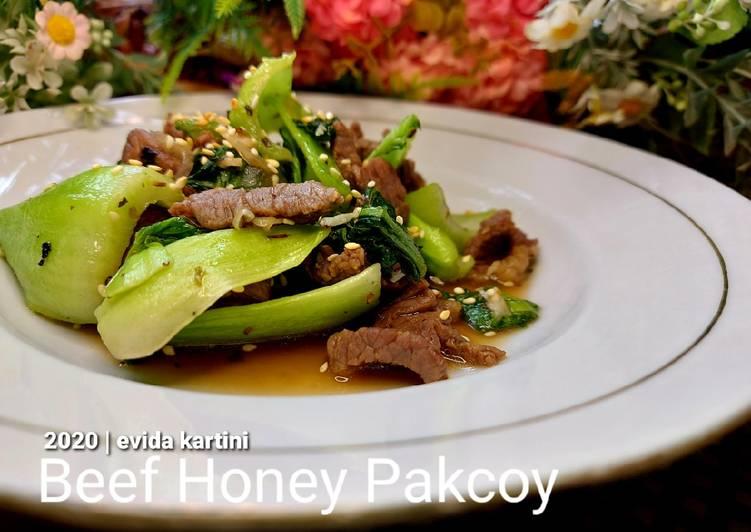 Beef Honey Pakcoy
