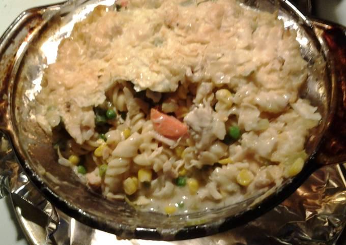 Quick Chicken & Noodles
