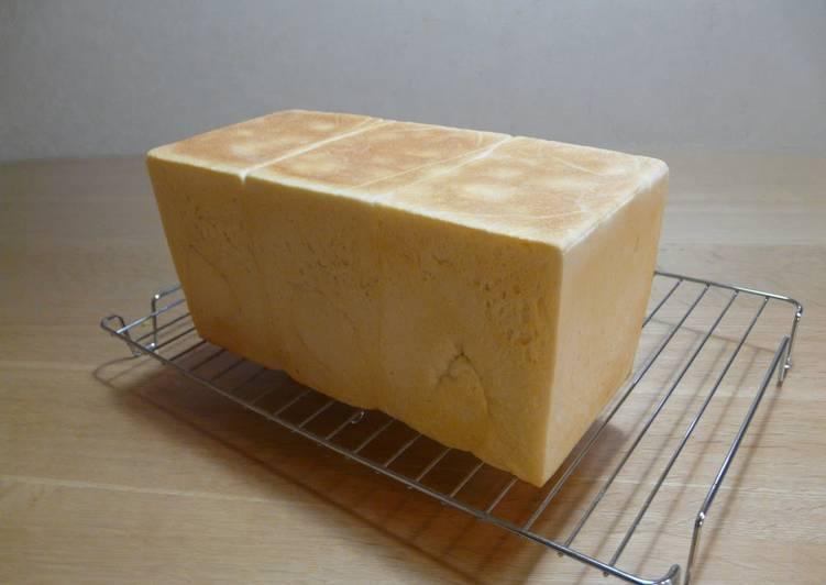10 Minute Easiest Way to Make Refreshing Rectangular Shokupan Loaf