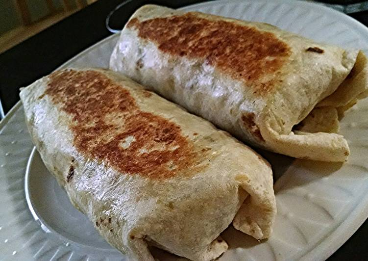 Grilled Breakfast Burritos