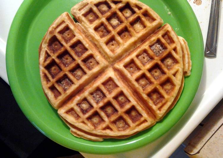 Easy Recipe: Yummy Oatmeal waffles