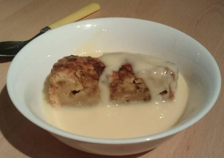 Vickys Apple Cinnamon Swirl Pudding, GF DF EF SF NF
