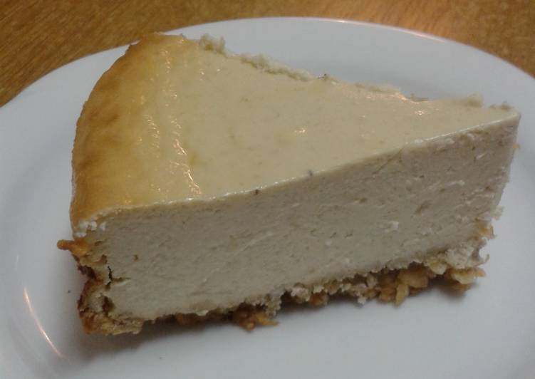 Healthy Baked Cheesecake