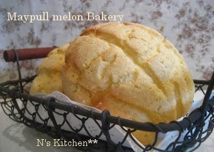 How to Prepare Homemade Crispy and Fluffy! Maple Melon Bread