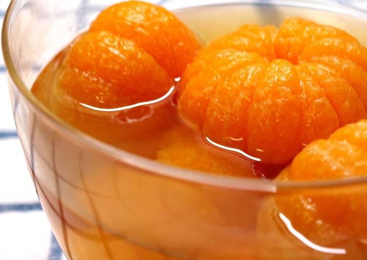 Recipe of Favorite Mandarin Orange Compote