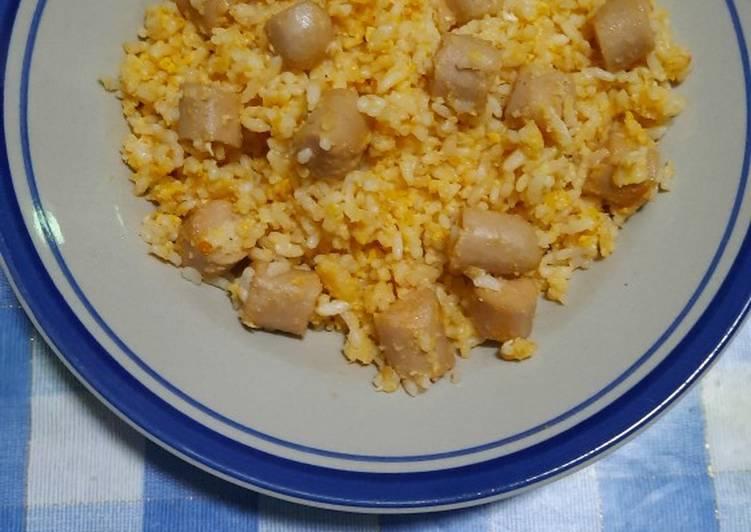 Nasi goreng pedas sederhana