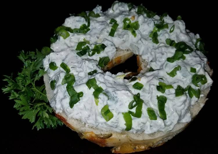 Mike's Creamy Feta Bagel Cucumber Spread Or Dip