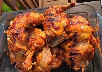 Easiest Way to Recipe Appetizing Foodi Grilled BBQ Chicken Leg Quarters