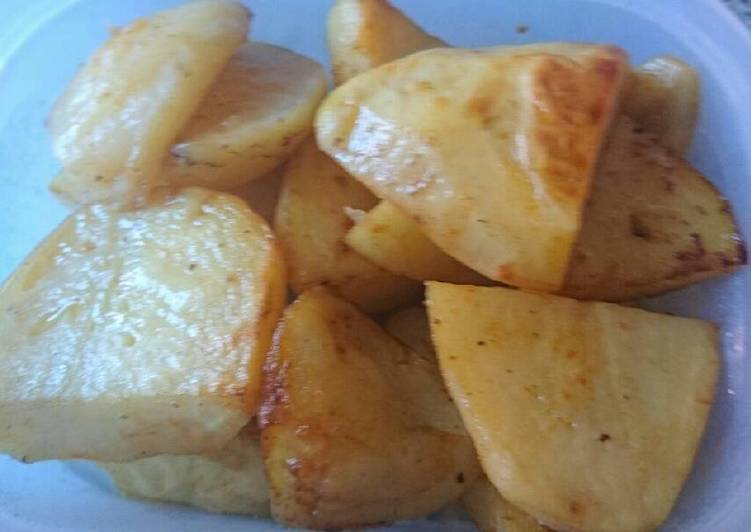 Recipe: Delectable Tasty potato wedges