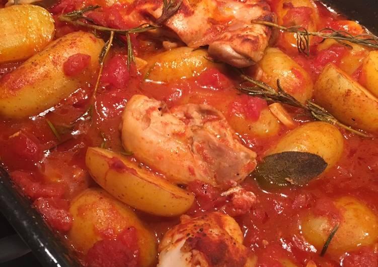 Garden Herb & Paprika Chicken Traybake