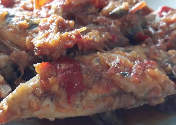 Sambal Balado Ikan Tongkol Huhah No MSG😋