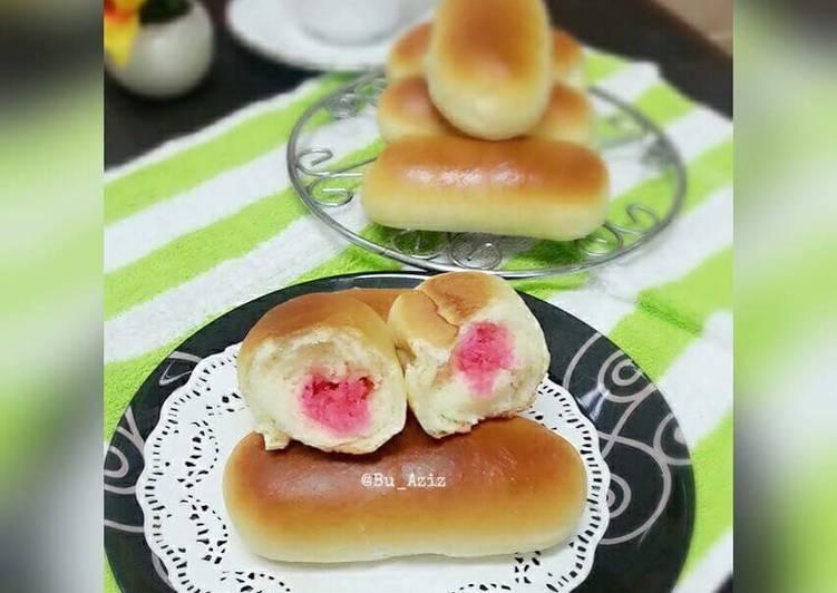 Resep COCONUT sweet bread (Japanese style) Ala Bu Aziz Bikin Laper