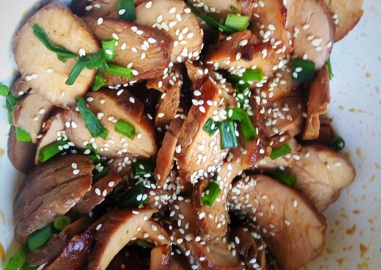 Simple Way to Prepare Perfect Lean Sweet Teriyaki Pork