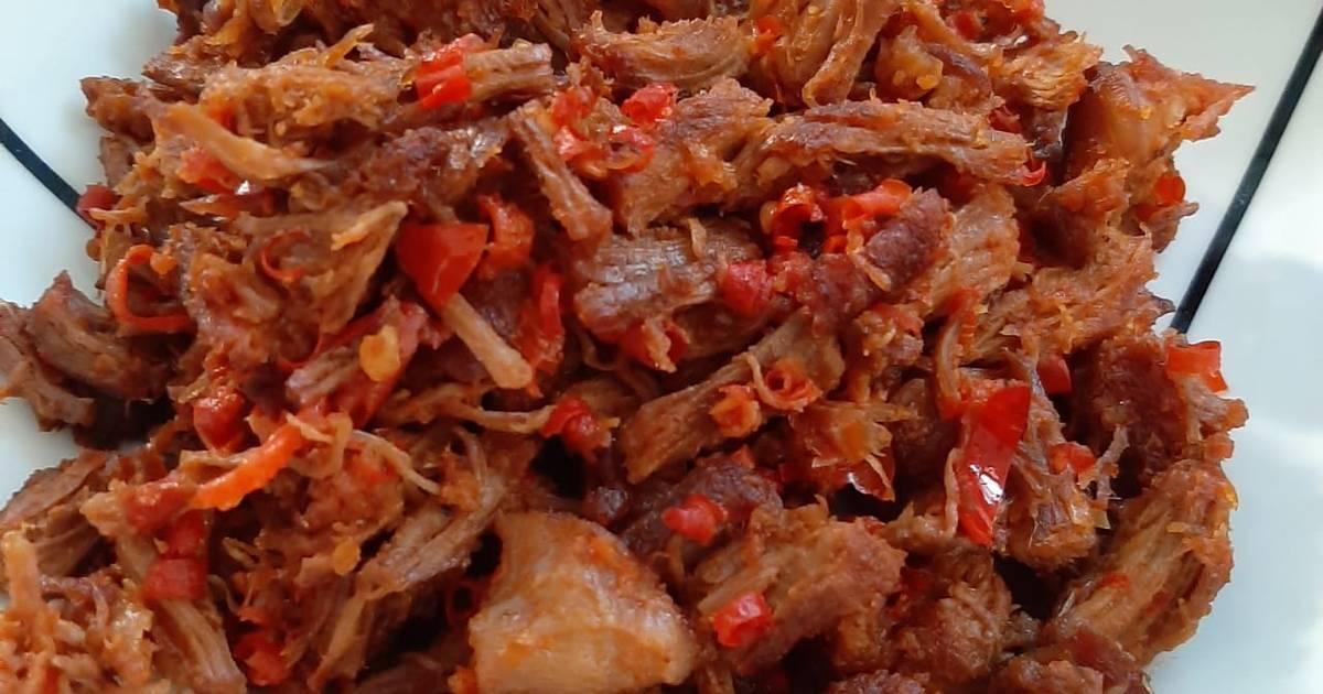 Resep Daging Sisit Babi Khas Bali Oleh Ni Ketut Suriasih Cookpad