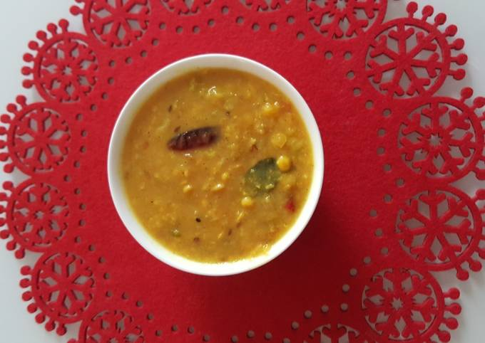 Simple Way to Prepare Ultimate Punjabi dal fry tadka (dhara kitchen recipes)