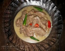 Lodeh Tewel spesial/lodeh nangka muda