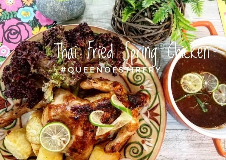 Thai Fried Spring Chicken