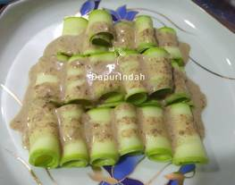 Timun China sauce jepang(sauce salad wijen khas jepang)
