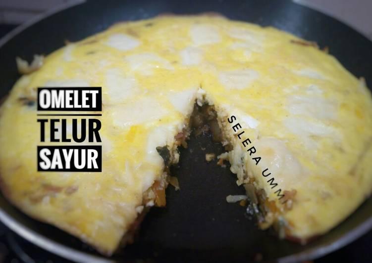 Omelet Telur Sayur