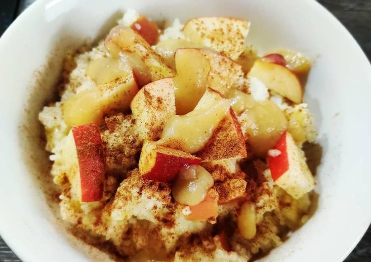 Süßer Apfel-Couscous