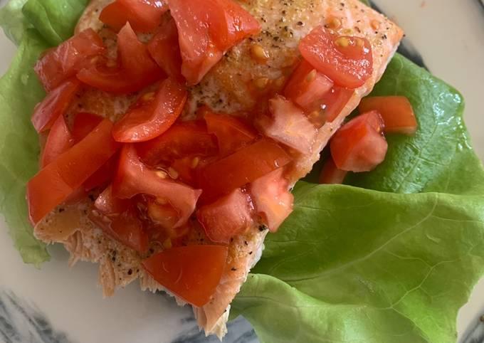 Salmon Tartine (low carb)