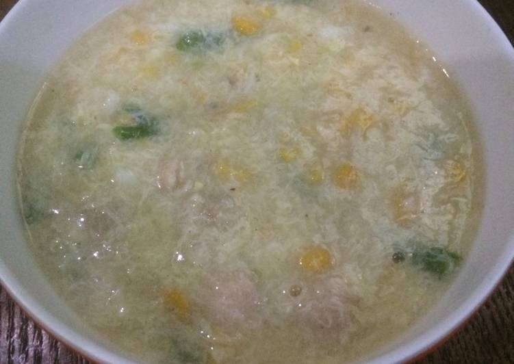 Sup kepiting asparagus