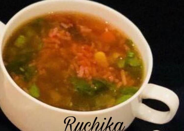 Recipe of Perfect Italian Orzo Soup