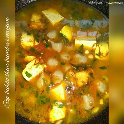 Resep Sop Bakso Ikan Ala Restoran Oleh Dapoer Mamalubna Cookpad